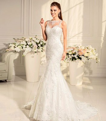 русалочка свадебное платье