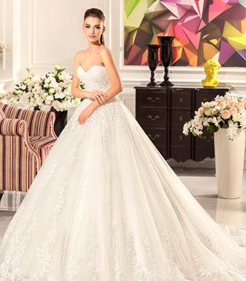 пышные свадебное платье