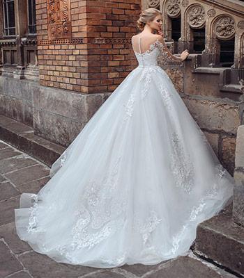 шлейф свадебное платье