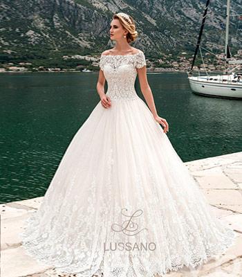 кружевное свадебное платье салон Венера
