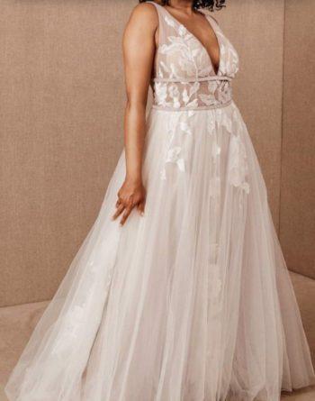 свадебные платья размер 50