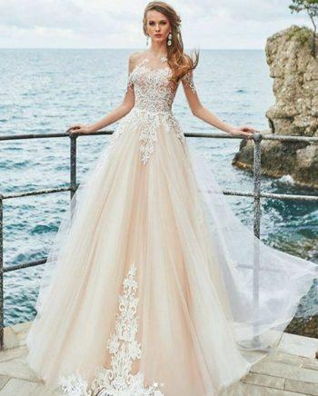 5ab376a73d8 Свадебное платье модель 197