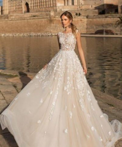 77a5594667b2b3 Свадебное платье модель 201