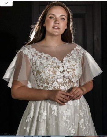 большой размер свадебные платья
