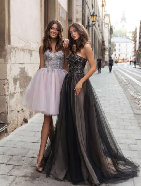 Вечерние платья на открытых корсетах