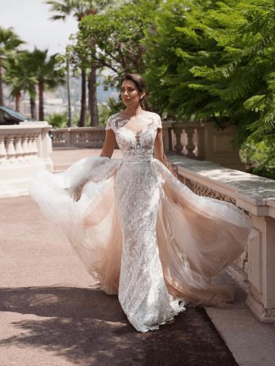 Свадебное платье 1 модель рыбка трансформер