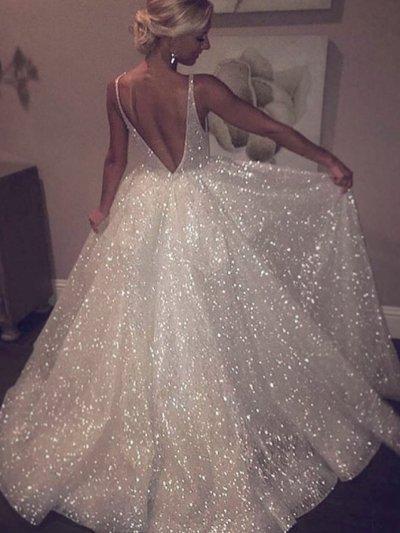 Свадебное платье блесточка