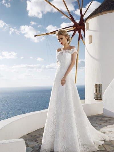 Cвадебное платье модель 136