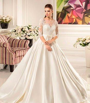 свадебное платье модель 114