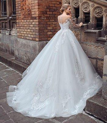 свадебное платье модель 121