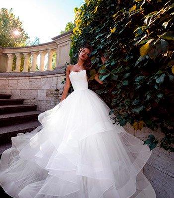 свадебное платье модель 124