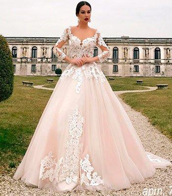 кружевное свадебное платье киев