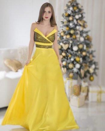 Вечернее платье модель 3