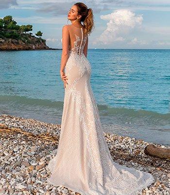 свадебное платье рыбка, салон венера