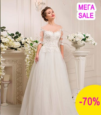 свадебное платье модель 105