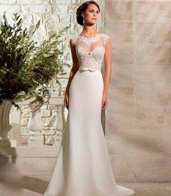 свадебное платье шифоновое