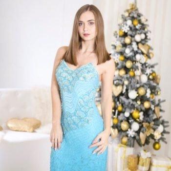 Вечернее платье модель 2