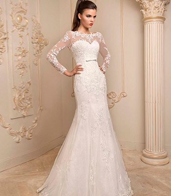рыбка свадебное платье