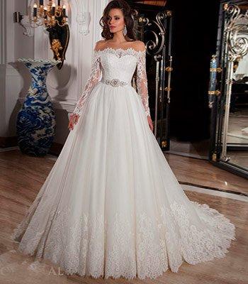 свадебное платье модель 109