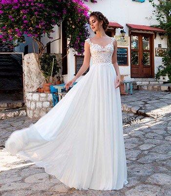 свадебное платье модель 163