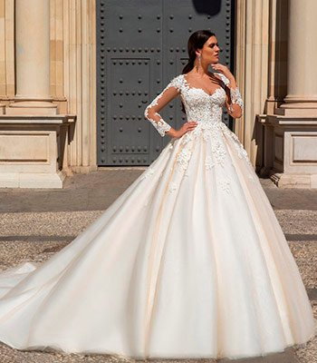 свадебное платье модель 103