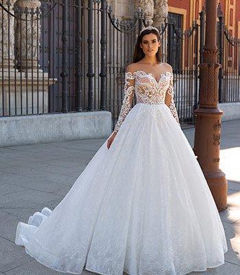 свадебное платье модель 106