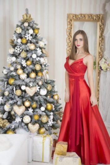 Вечернее платье модель 4
