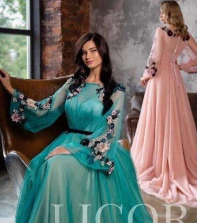Вечернее платья модель 48