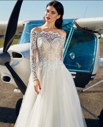 свадебное платье модель 168