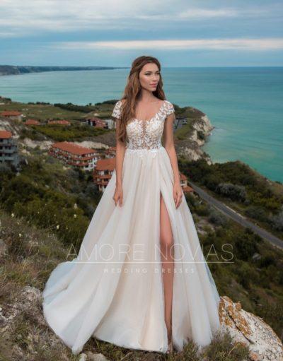 свадебное платье модель 104