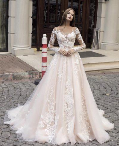 Свадебное платье модель 196