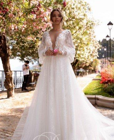 Свадебное платье модель 204