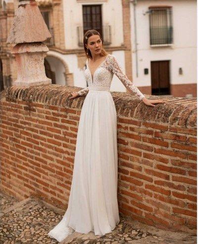 свадебное платье модель 221