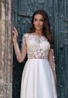 свадебное платье трансформер с рукавами