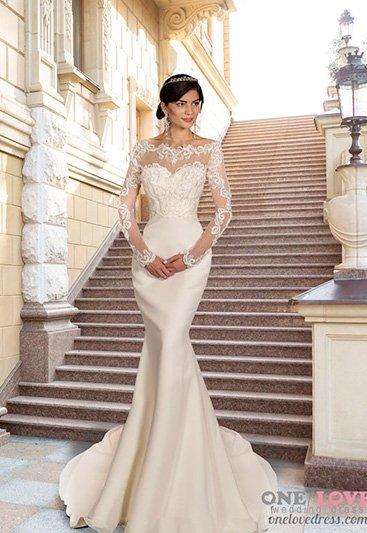 свадебное платье модель 184