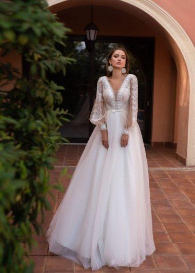 Свадебное платье модель 205