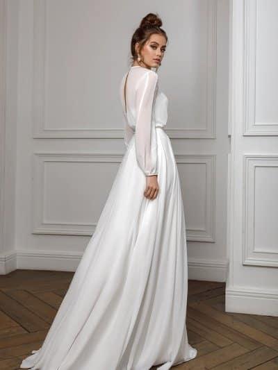 Вечернее платье вайт тай