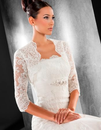 Болеро невесты