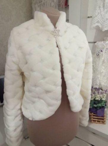 Свадебная шубка мод 102