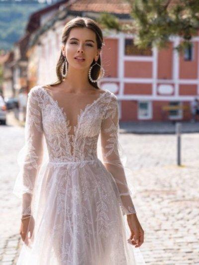 свадебное платье модель 173