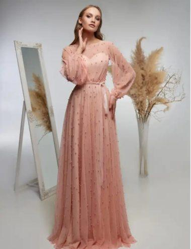 Вечернее платье модель 38